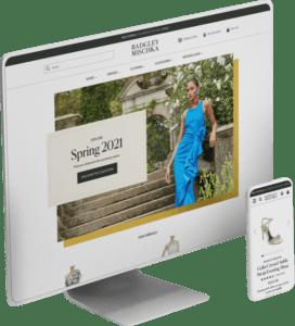 Badgley Mischka website design