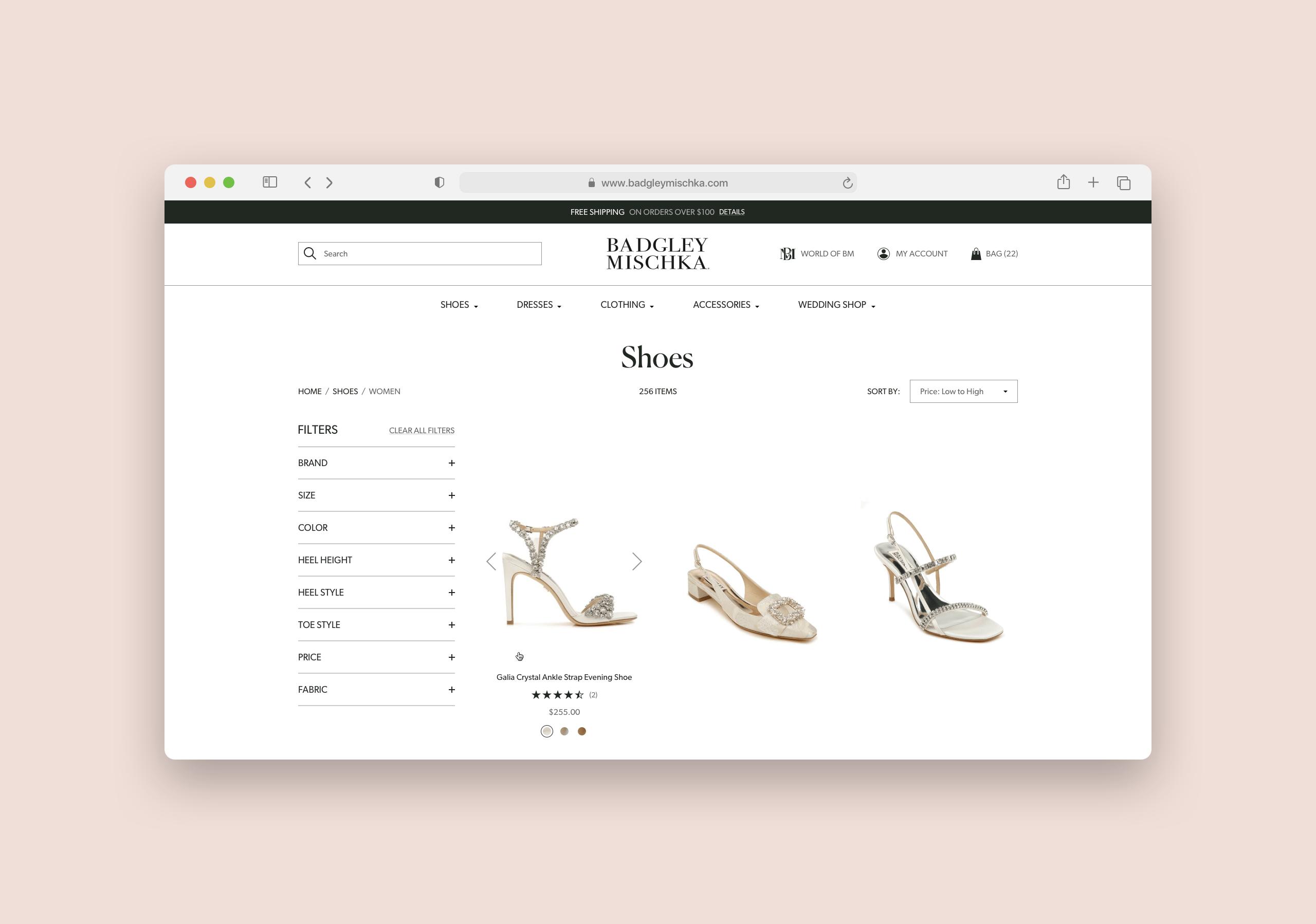 Badgley Mischka Product Listing Zoom