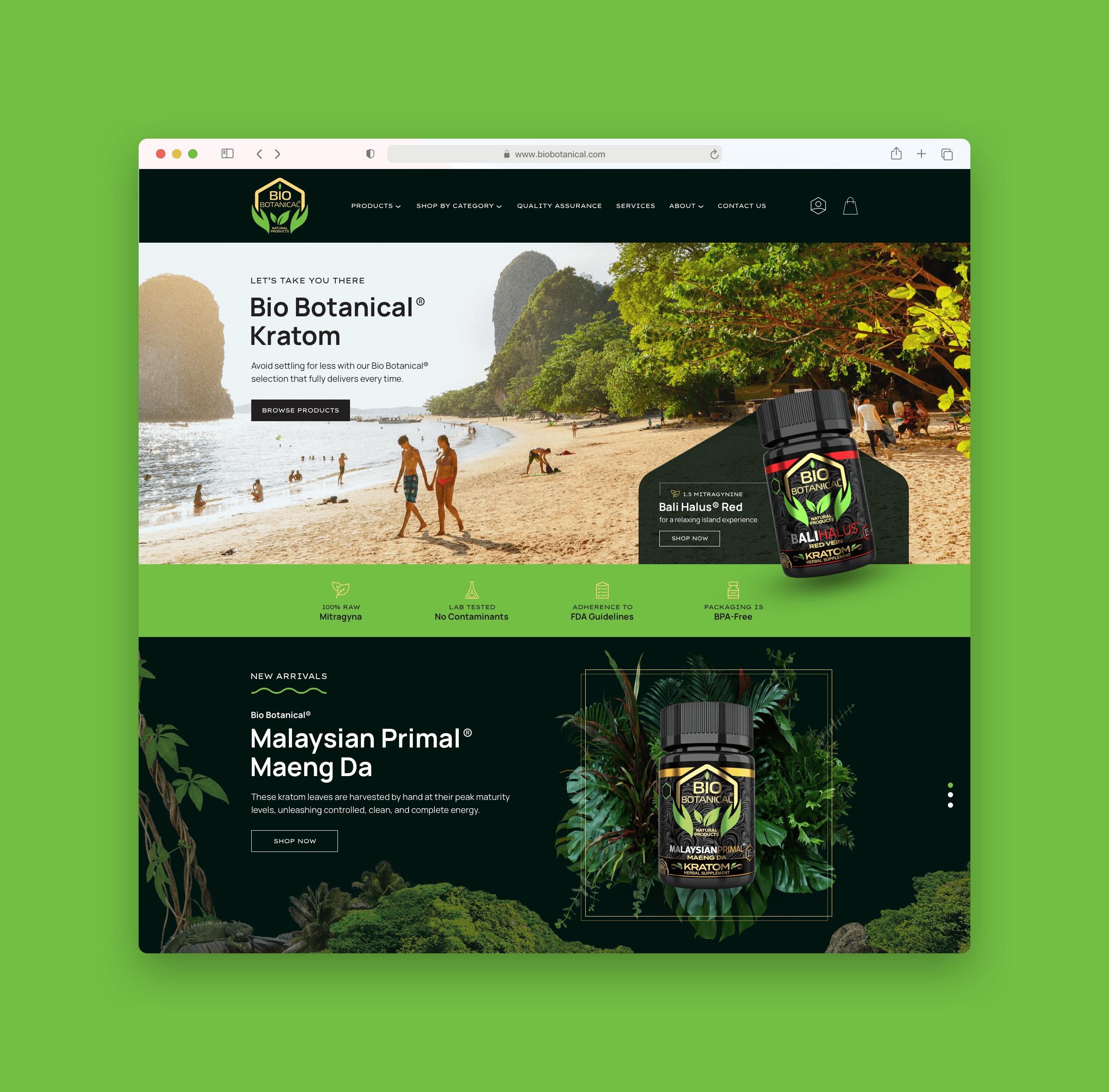 Bio Botanical Website