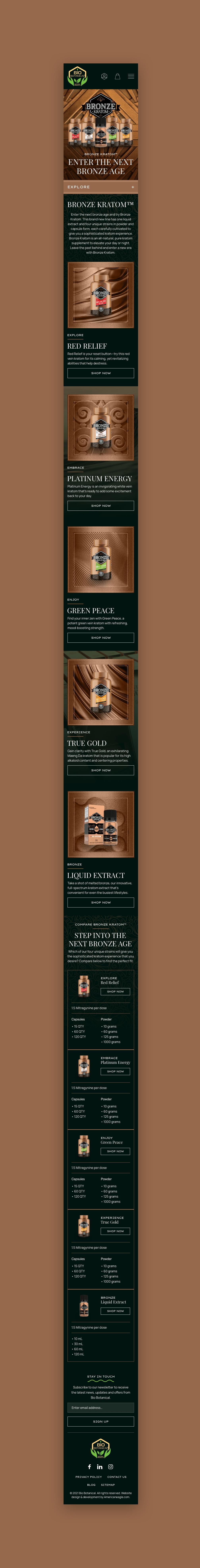 Bronze Mobile