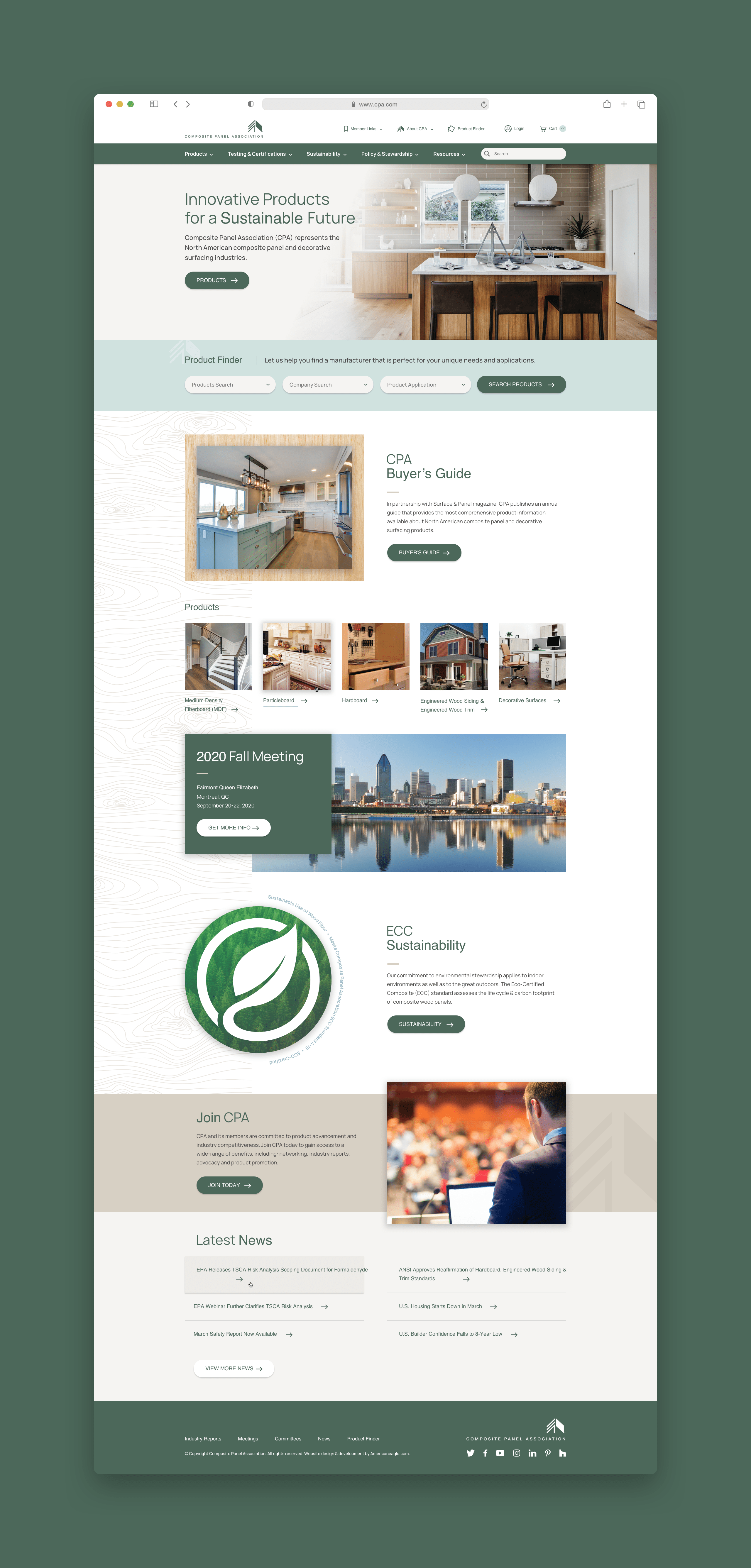 CPA Homepage