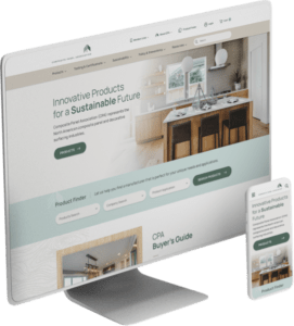 Composite Panel Association website design