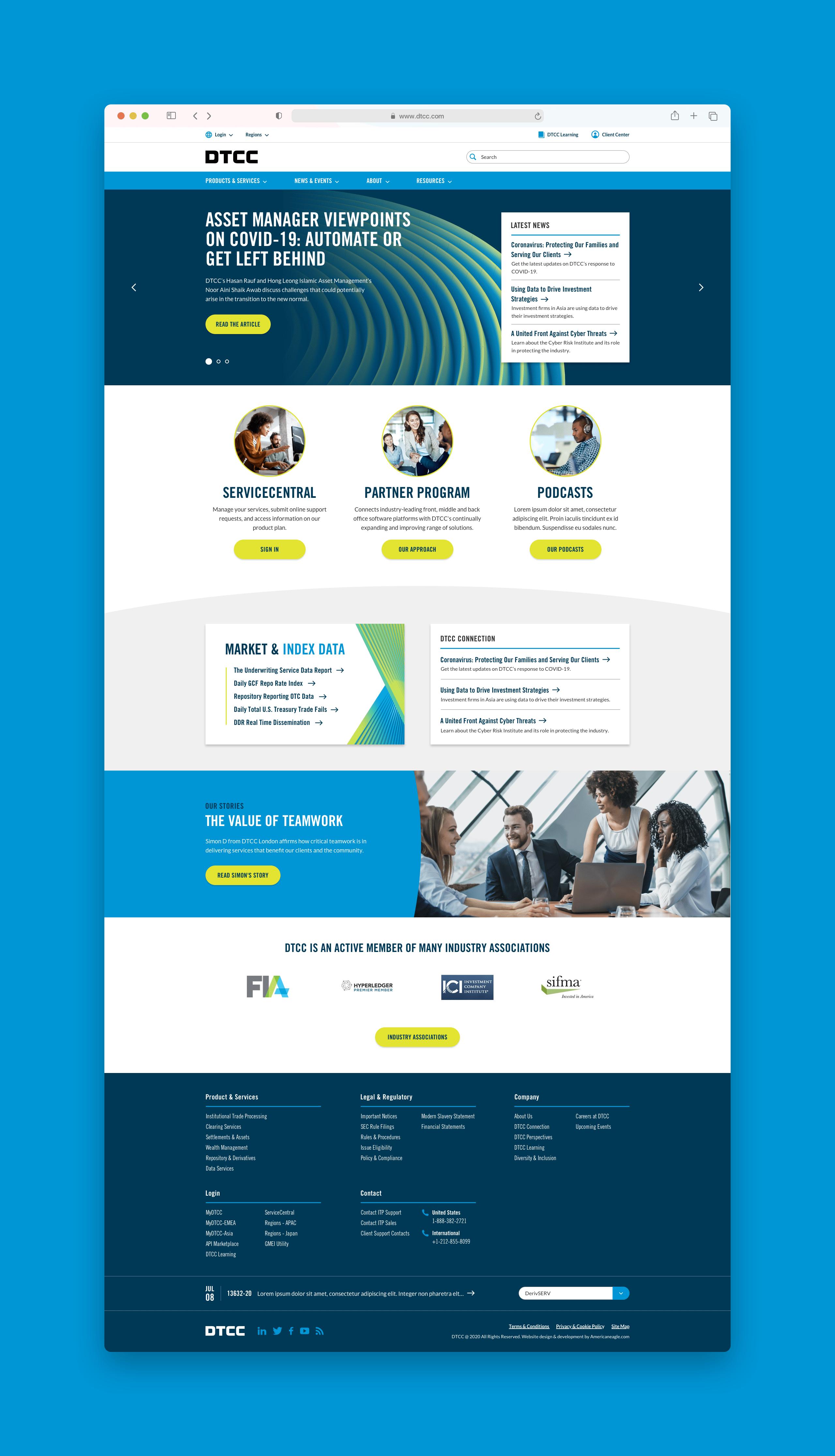 DTCC Homepage