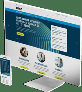 DTCC website design