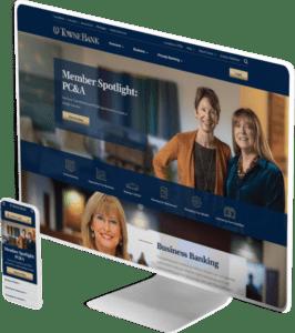 TowneBank website design