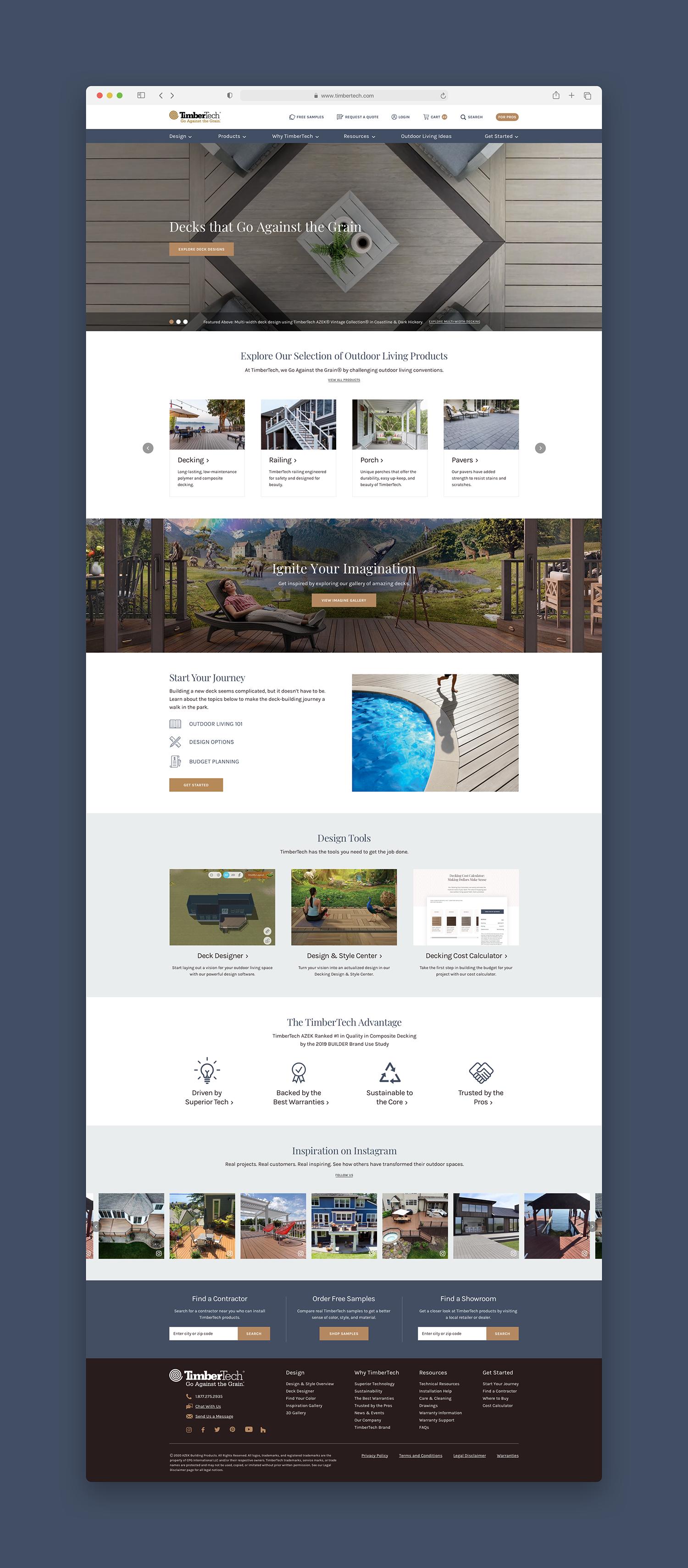 TimberTech Homepage