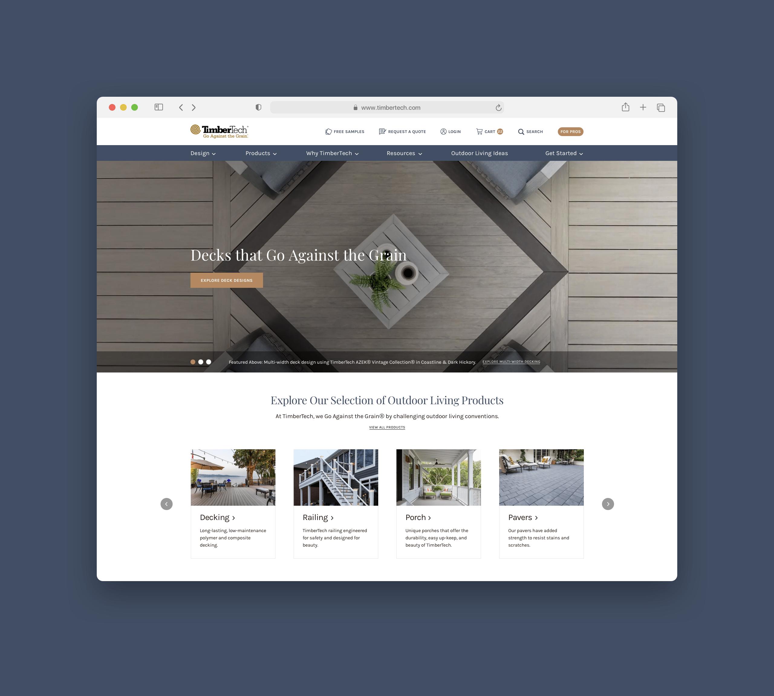 TimberTech Website