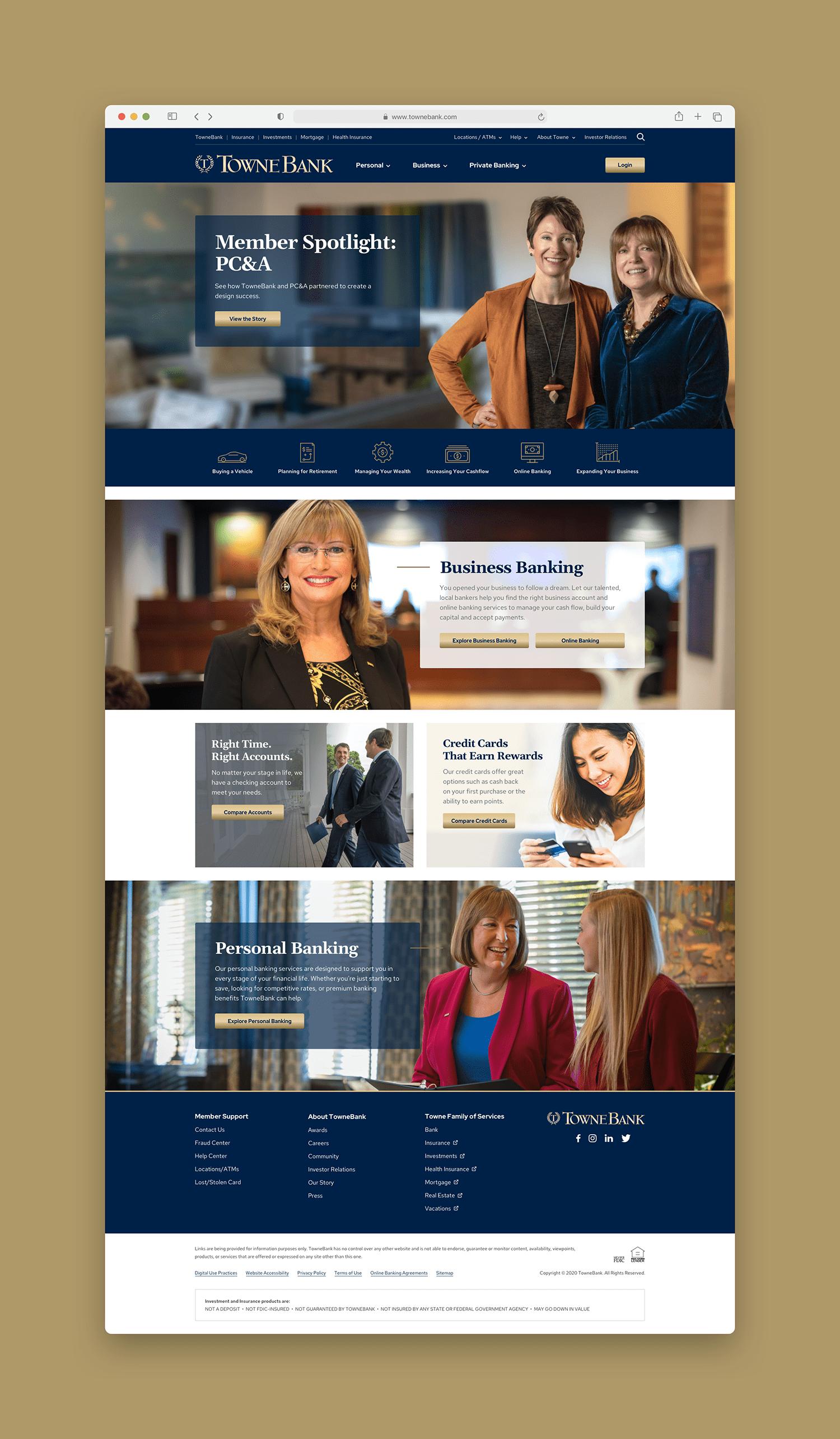 TowneBank Homepage