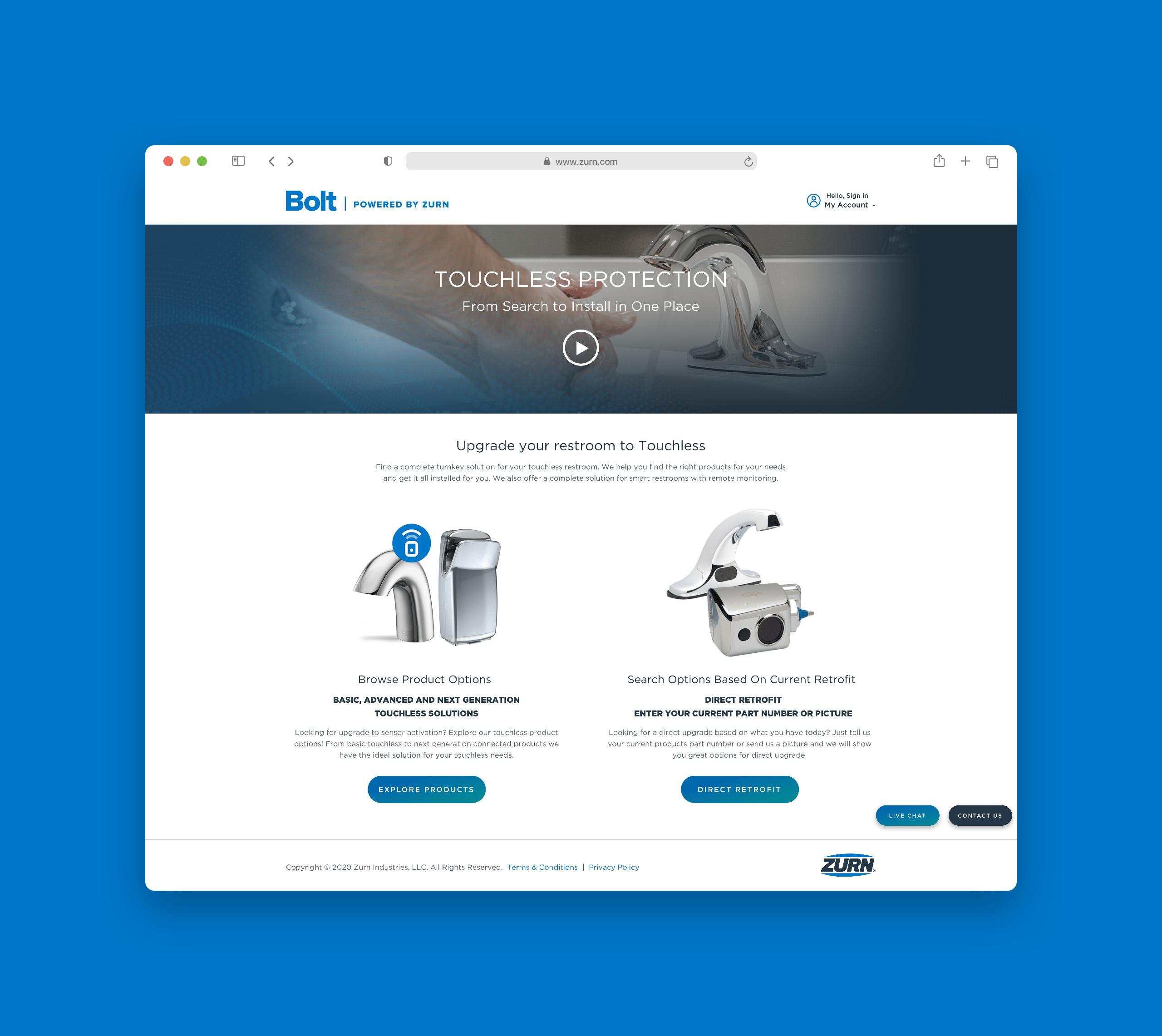 Zurn Homepage